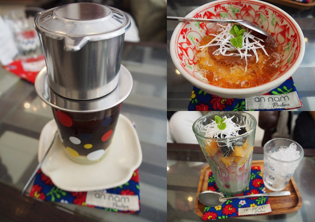 ベトナムコーヒー、バインフラン、ホアクアザム