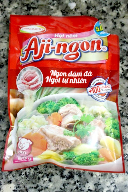 Ajinomotoから発売されている粉末スープの素(hạt nêm)「Aji-ngon」