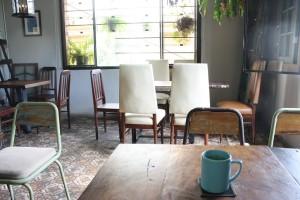 「bang khuang café」の店内