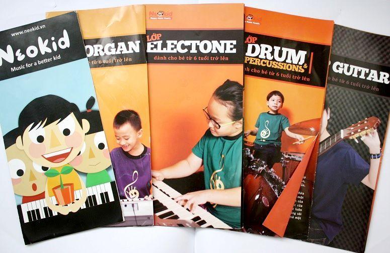 音楽教室「Neo kid」のパンフレット