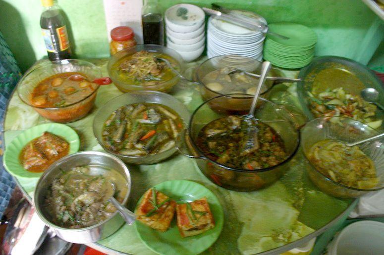 ベトナムの家庭料理のおかず