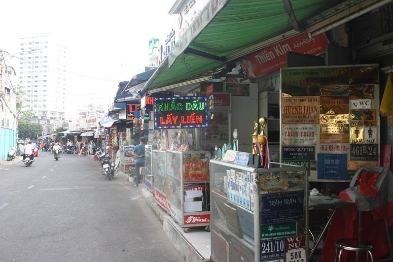 Luong Huu Khanh通りの様子