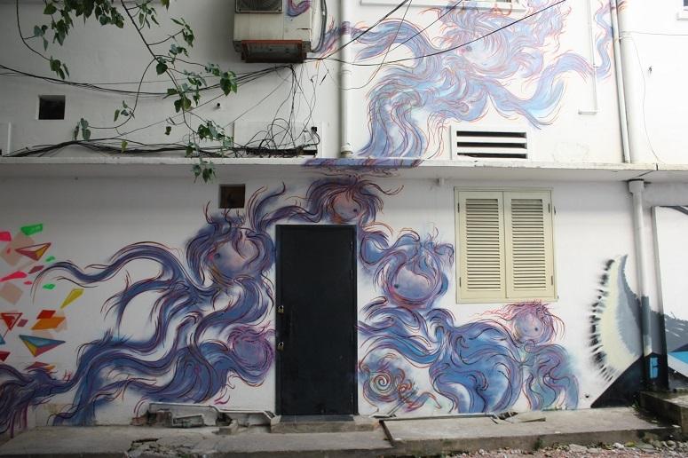 「3Aステーション(NHA GA 3A)」のストリートアート 1