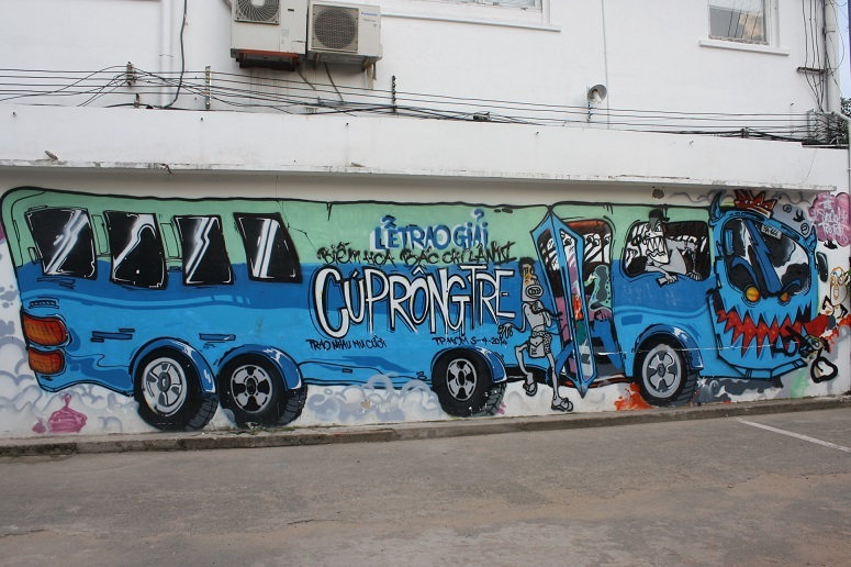 「3Aステーション(NHA GA 3A)」のストリートアート 6