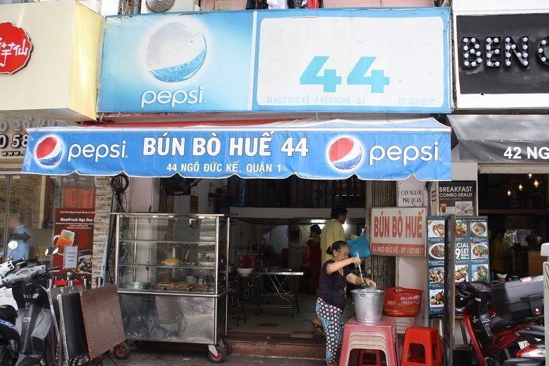 「BUN BO HUE 44」の外観