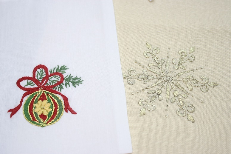 ベトナムの刺繍小物
