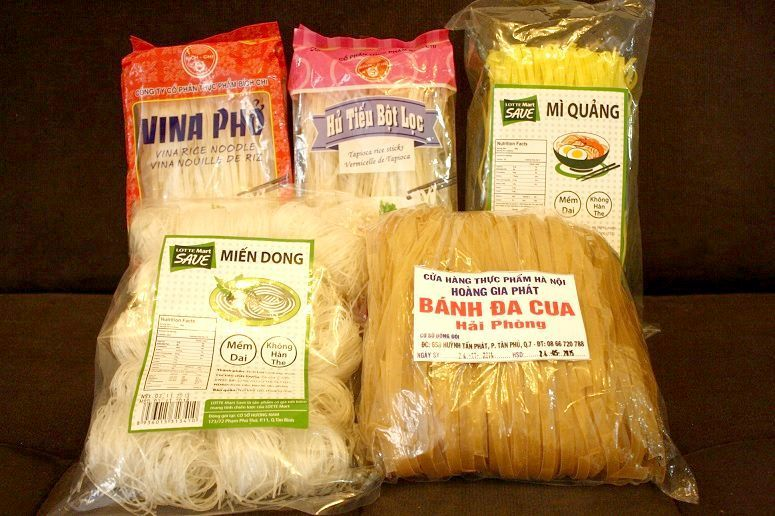 各種ベトナムの麺(乾麺)