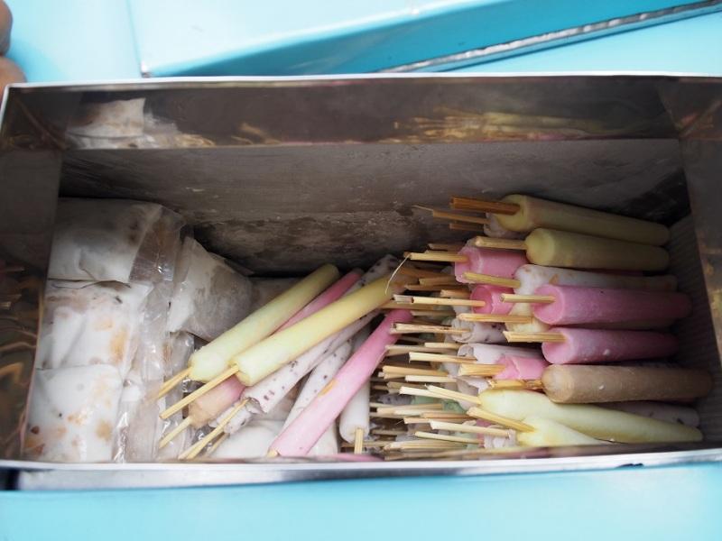 ベトナムのアイスキャンディ