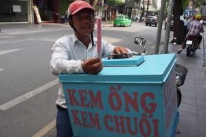 アイスキャンディ売りのおじさん