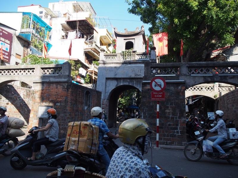 ハノイの東河門