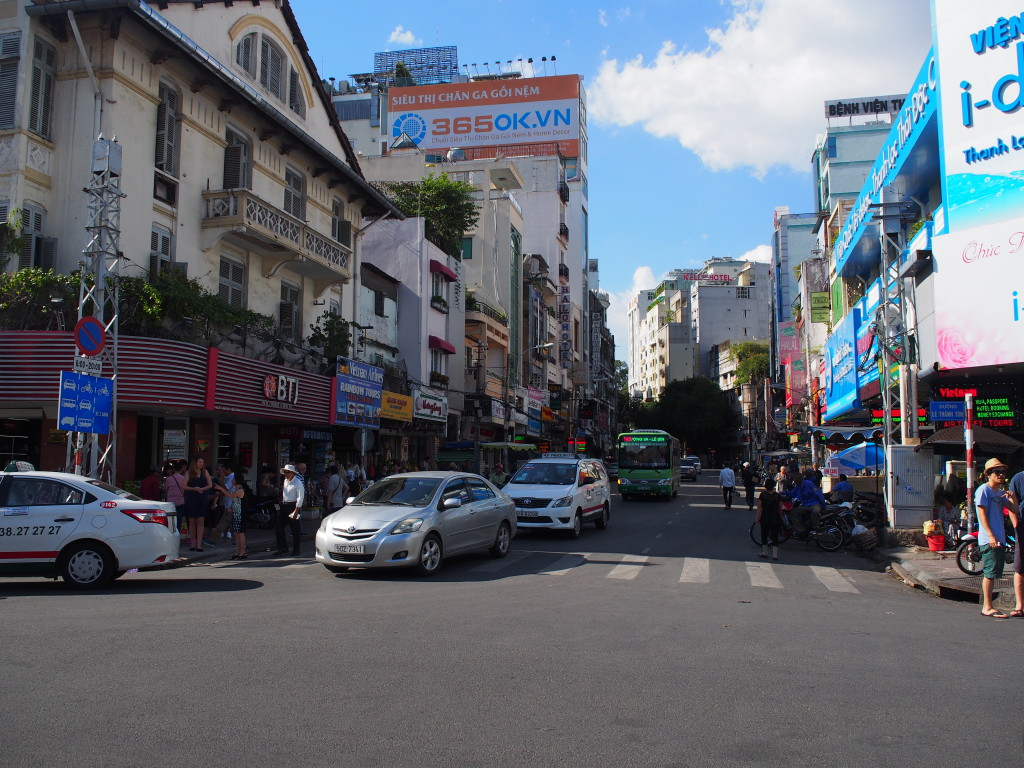 Thu Khoa Huan通りの様子