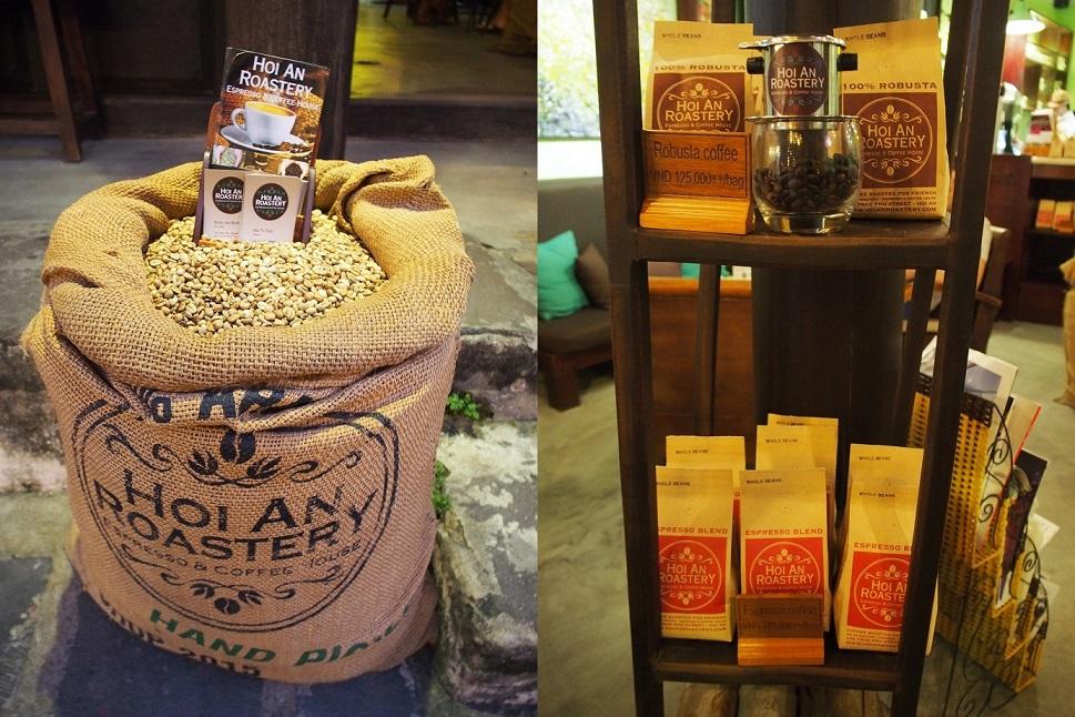 店内で販売しているコーヒー豆