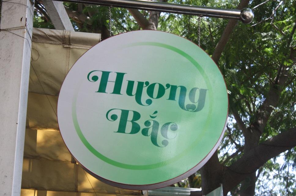 「Huong Bac」の看板