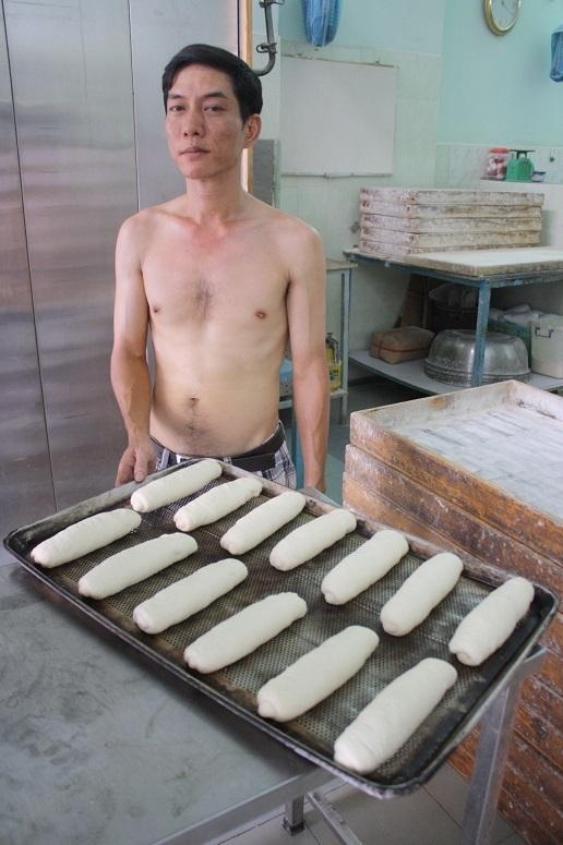 パン職人のおじさん