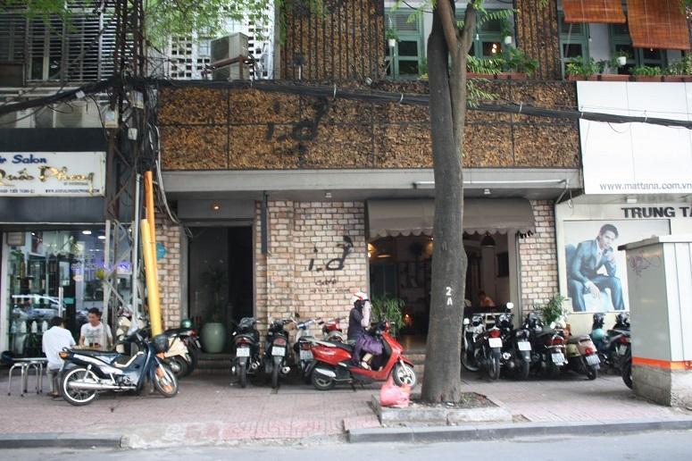 「i.d Café」外観