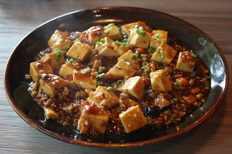 三福楼の麻婆豆腐