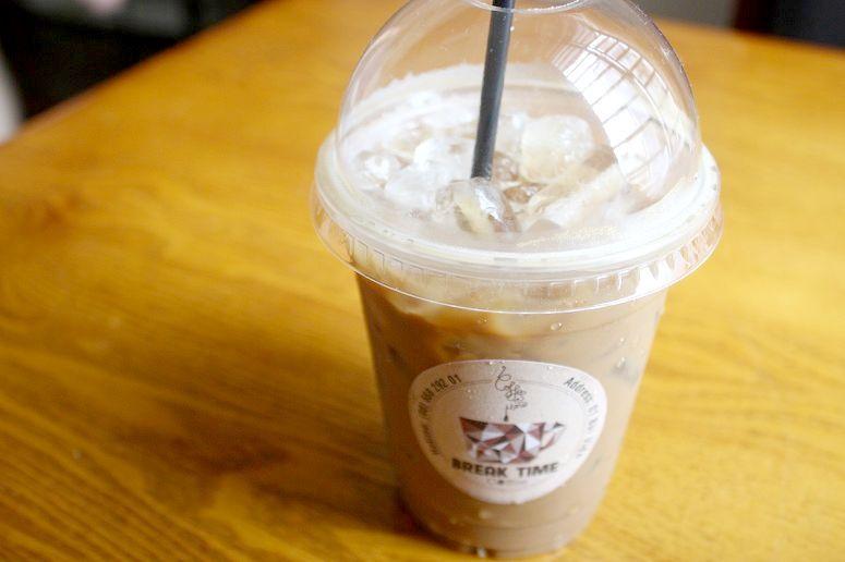 練乳入りアイスベトナムコーヒー