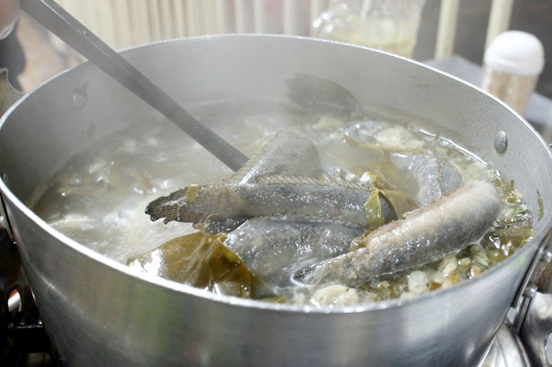 ドジョウ鍋(Lau ca keo)