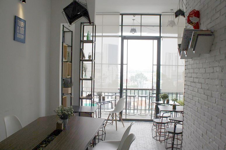 「buihaus coffee & workshop」店内