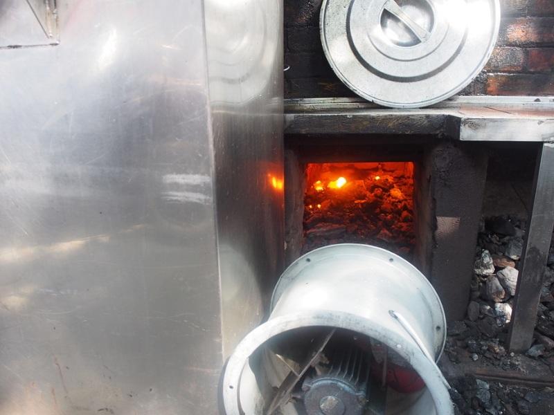 薪火で煮込むスープ