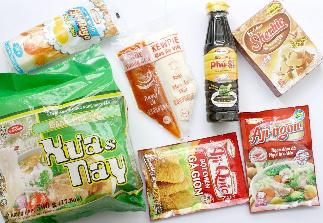 日系食品メーカーから出ている商品
