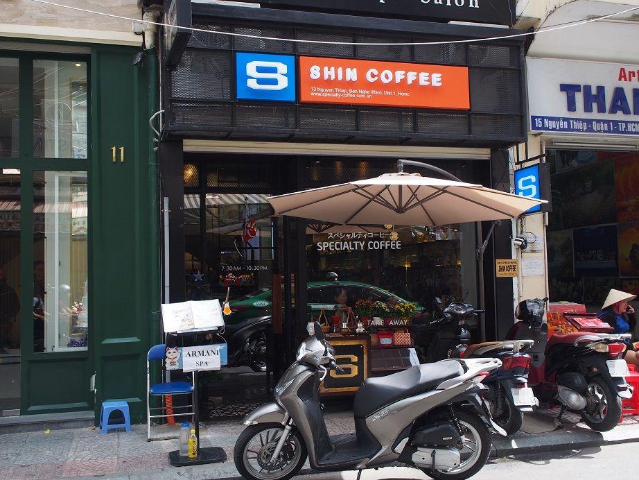 「SHIN COFFEE」の外観