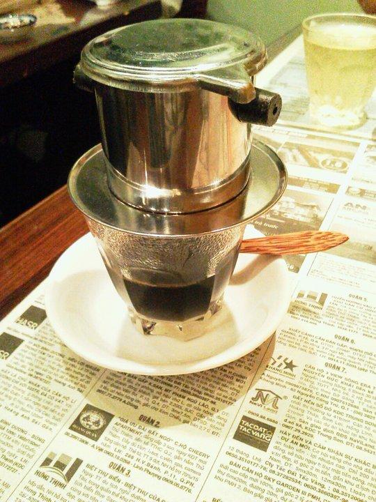 ベトナムコーヒー(ホット)