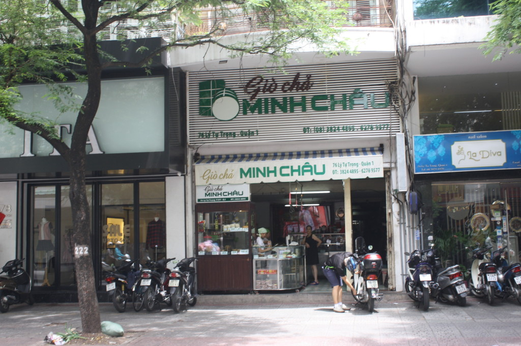 「gio cha MINH CHAU」の外観