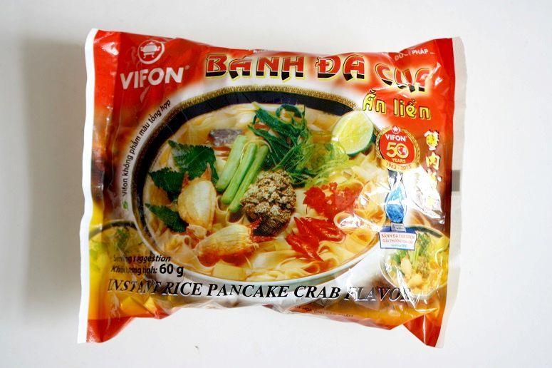 BANH DA CUAのインスタント麺