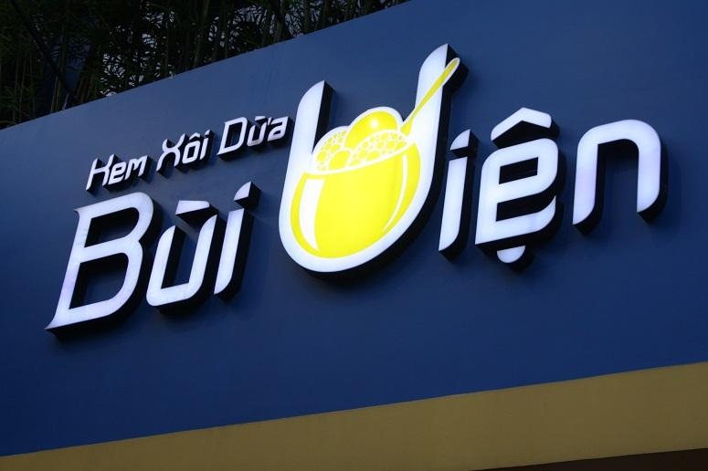 「Kem Xoi Dua Bui Vien」のロゴ