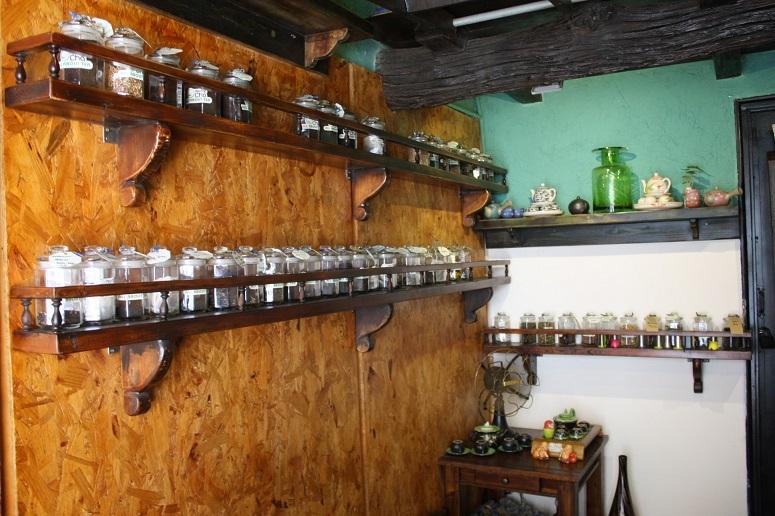 「Plantrip Cha」の店内