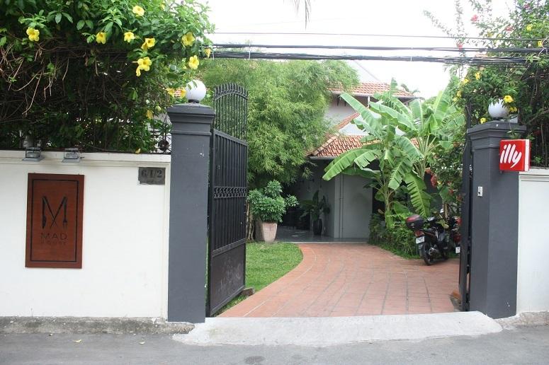 MAD Houseの外観