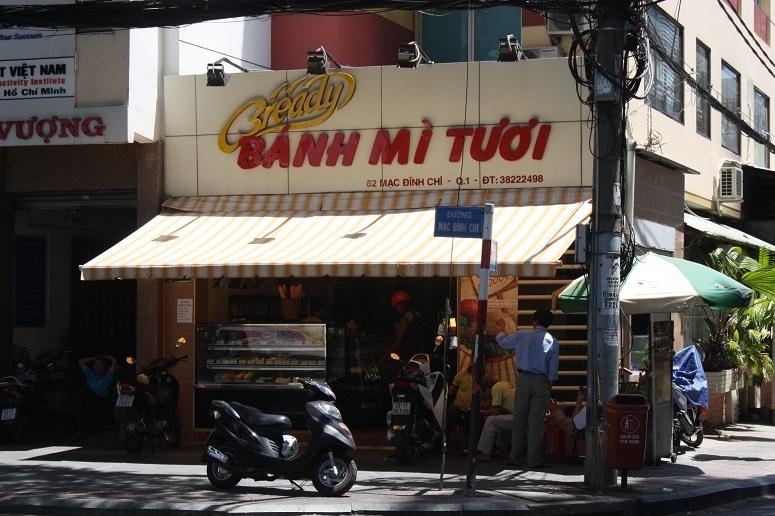「Bready BANH MI TUOI」の外観