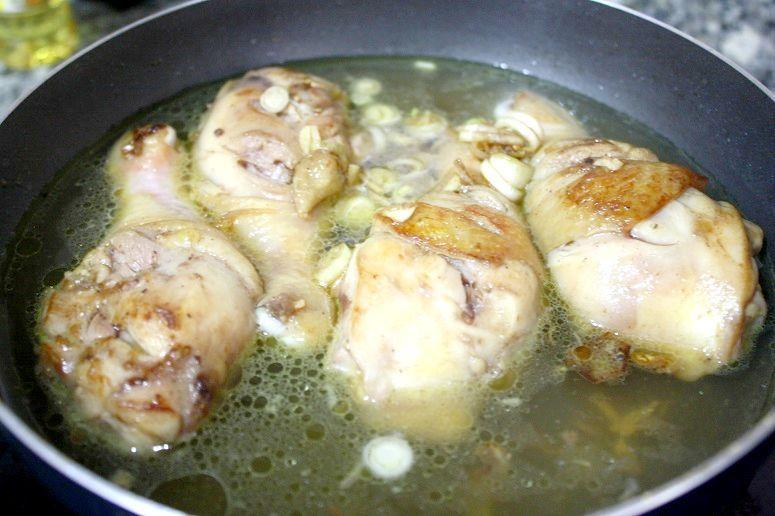 鶏肉+ココナッツウォーター