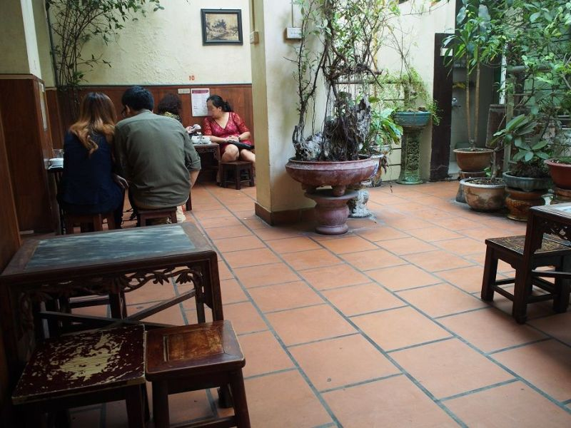 Giang Cafeの店内