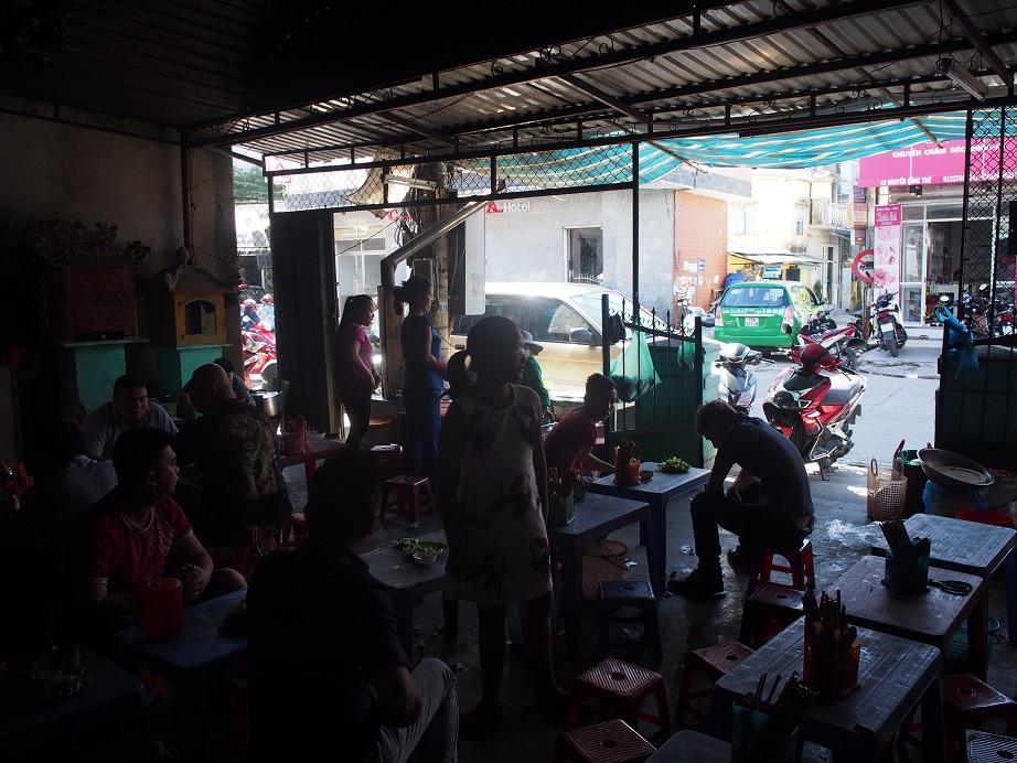 「Bun Bo Hue Ba Tuyet」の店内