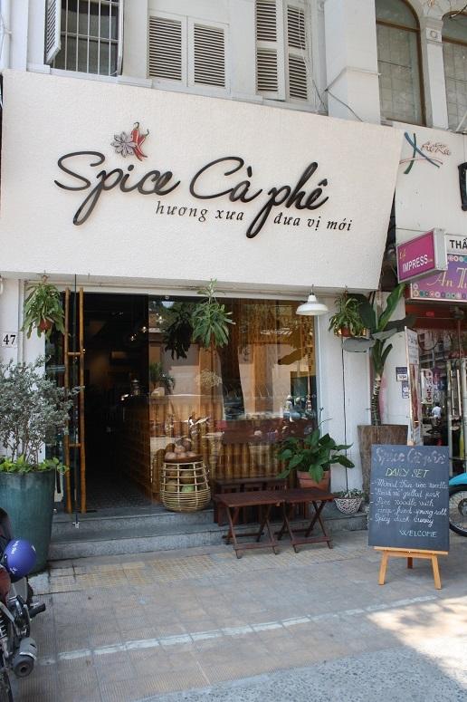 「Spice Ca phe Bistro」の外観