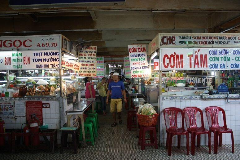 An Dong Marketの食堂街