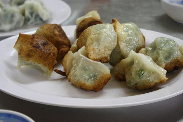 大娘水餃の焼き餃子