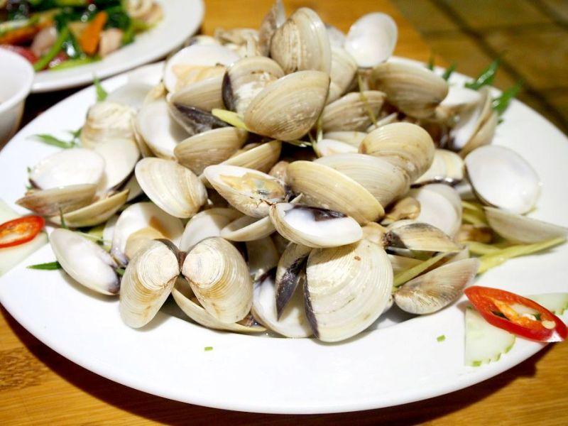 イカと野菜の炒めもの