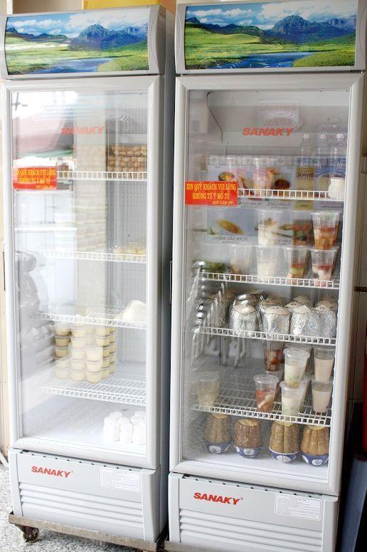 「Coconut & Pumpkin」の冷蔵庫
