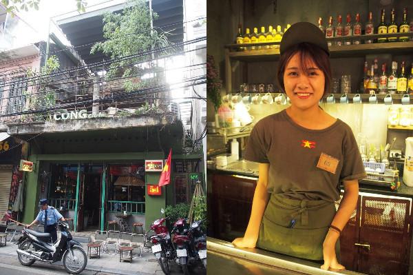 左:店舗外観  右:マーマイ通り店のスタッフ