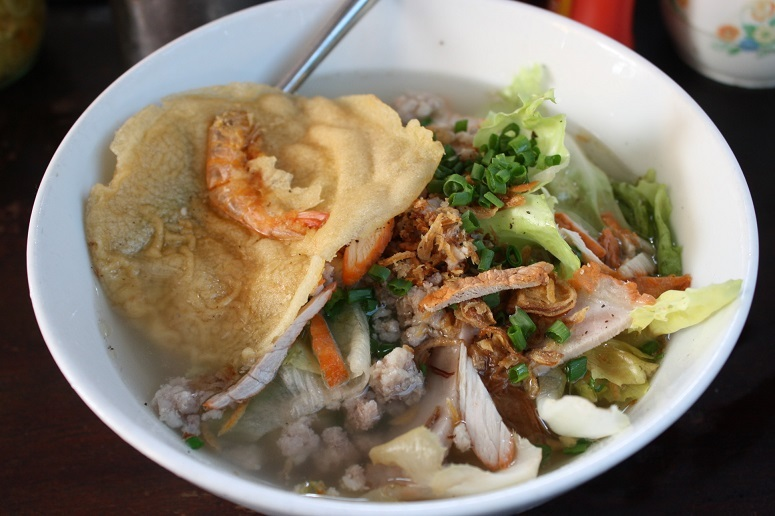 GIANG LAM KY(江林記麵擋)のワンタン麺