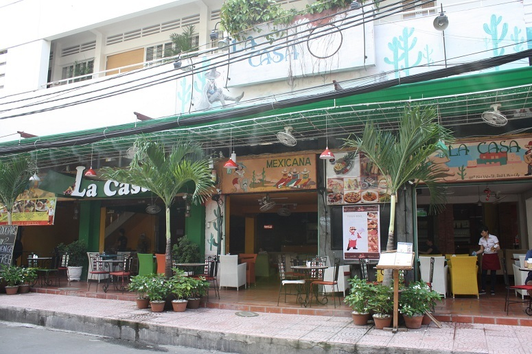 「La Casa」の外観