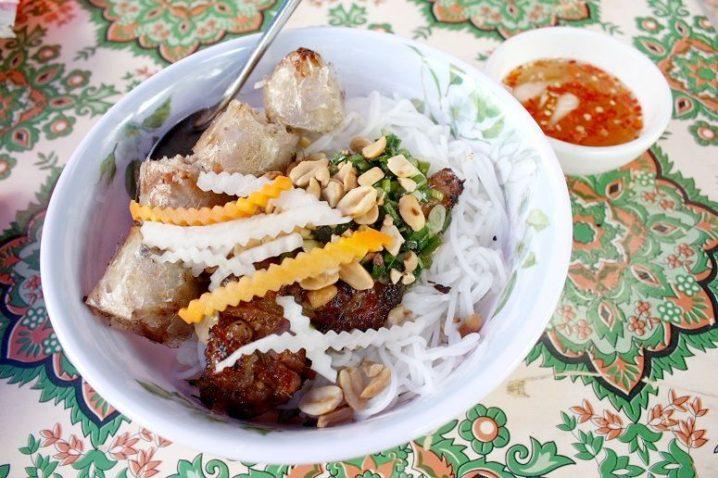 bun thit nuong @ Nguyen Trung Truc