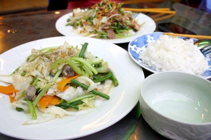 Chao Sai Gonの料理
