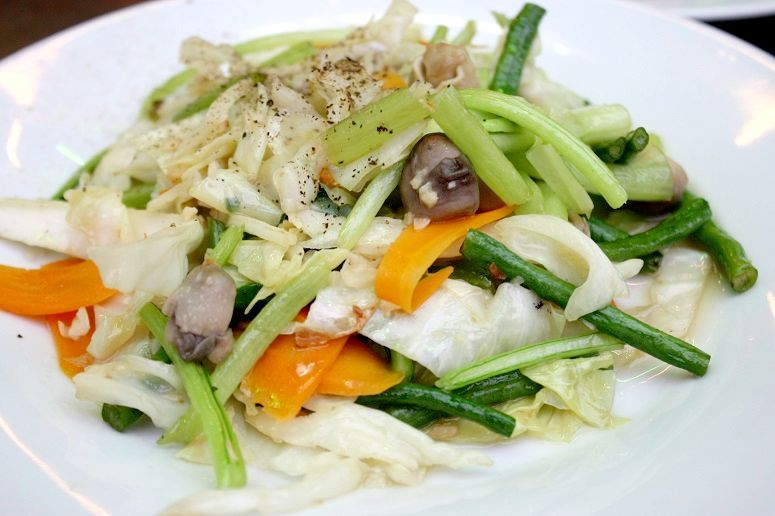Chao Sai Gonの野菜炒め