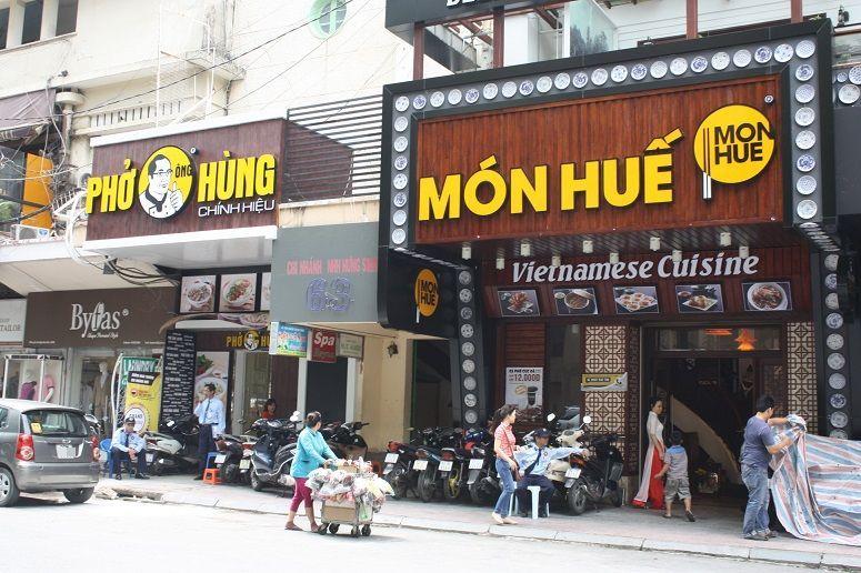 PHO ONG HUNG と MON HUE