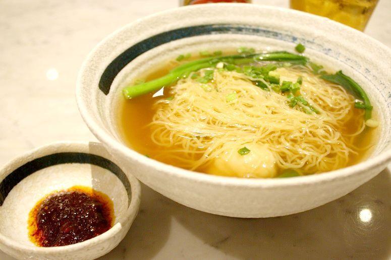鮮蝦雲呑麵
