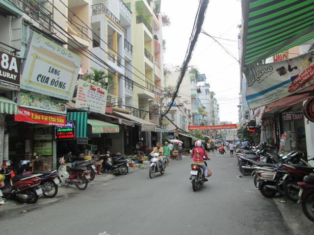 グエンティミンカイ通り18Aの路地